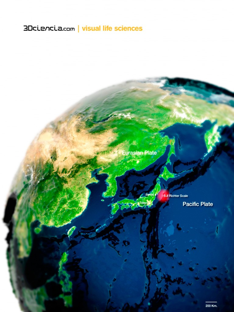 An 8.9-magnitude earthquake struck off the coast of Japan  on Friday.