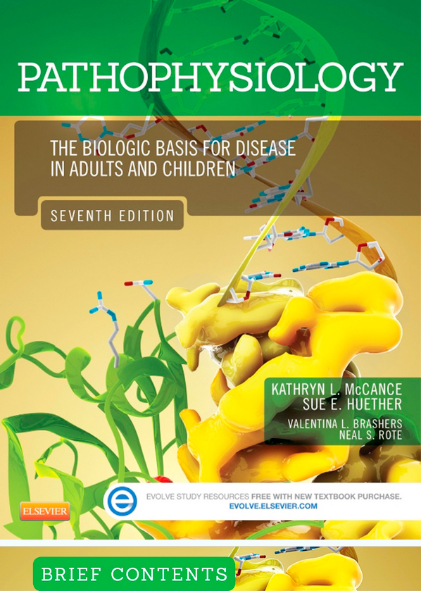 pathophysiology seventh edition biologic basis for disease adults children McCance huether 3Dciencia